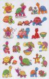 Z-Design Schildkröten mit Glitzer Sticker
