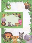 PBS-FACTORY jungle letter paper set