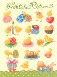 GOLLONG Viele kleine Küken - Nina Chen Postkarte