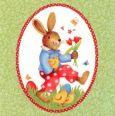 GOLLONG Osterhase im Rahmen - Carola Pabst Postkarte
