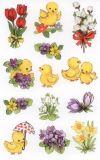 BSB Blumen & Küken Sticker
