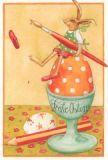 GRÄTZ Frohe Ostern - Osterei im Becher Postkarte