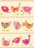 GRÄTZ Bunte Hühner Postkarte