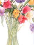 RIA & RO Tulips Briefpapier US Format