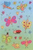 Herma Lustige Schmetterlinge Sticker