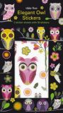 ROGER LA BORDE Midnight Elegant Owl Sticker Set
