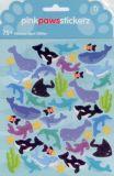 pinkpawsstickerz Delfine, Haie & Wale Doublez Glitzer Sticker