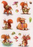 Herma Eichhörnchen Sticker