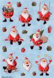 Herma Weihnachtsmänner Sticker