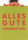 MT Alles Gute zum Geburtstag - Ernie - Sesamstraße Postkarte