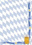 PKS Rauten-Krug Bayern Briefpapier A4