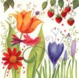 GOLLONG Frühlingsblüten - Carola Pabst Postkarte