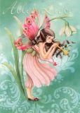 GOLLONG Alles Liebe Elfe m.Schneeglöckchen - Nina Chen Postkarte