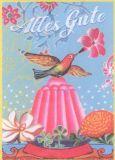 ALLTAGSPARADIES Alles Gute Postkarte