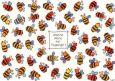 LALI Welche Biene hat Flugangst? Postkarte