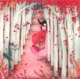 TAURUS-KUNSTKARTEN Mädchen im Wald - Mila Postkarte