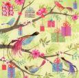 TAURUS-KUNSTKARTEN Vögel & Geschenke - C. Demuynck Postkarte