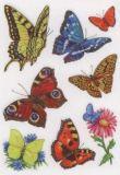 Herma Klassische Schmetterlinge Sticker
