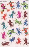 TREND Sock Monkeys Super Shapes Sticker