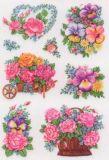 Herma Nostalgische Blumentöpfe Sticker