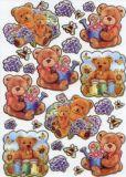 KARIN JITTENMEIER Teddys Glossy Sticker