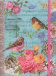 WENDEKREIS Vintage Bird Notizbuch