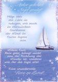 HARTUNG EDITION Anker gelichtet Segel gesetzt IN TOUCH Postkarte