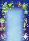 DECAdry Weihnachtsglanz Briefpapier A4