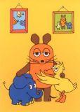 MT Familienportrait - Sendung mit der Maus Postkarte