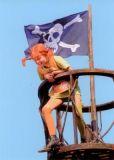 MT Piratenflagge - Pippi Langstrumpf Postkarte