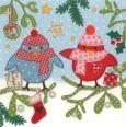 GOLLONG Zwei Vögel - Carola Pabst Postkarte