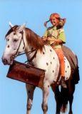 MT Pippi und Kleiner Onkel - Pippi Langstrumpf Postkarte