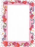 GEOGRAPHICS Ribbon Hearts Briefpapier US Format