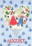 GOLLONG August / Herz - Kerstin Heß Postkarte