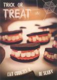 GOLLONG Trick or Treat Halloween - cutecottageoverload Postkarte