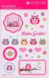 AMAZING IDEAS Little Owls Sticker