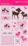 AMAZING IDEAS Sweet Little Fawn Sticker