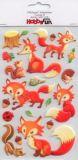 HobbyFun Füchse IV CREApop Softy Sticker