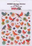 HobbyFun Vögel II Hobby-Design Sticker