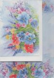 FLORIS Wildblumen A5 Briefpapierset