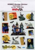 HobbyFun Halloween II - Nacht Hobby-Design Sticker