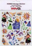 HobbyFun Hexenzauber Hobby-Design Sticker