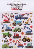 HobbyFun Baufahrzeuge II Hobby-Design Sticker