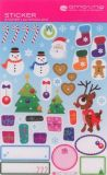 AMAZING IDEAS Little Reindeer, Snowman & Co Sticker