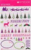 AMAZING IDEAS Reindeers & Xmas Trees Sticker