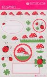 AMAZING IDEAS Lucky Ladybird & Friends Sticker