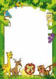 LYSCO Dschungel 10 Blatt A4 Briefpapier