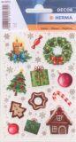 Herma Lebkuchen / Weihnachtssymbole Sticker