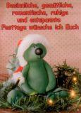 TATZINO Besinnliche, gemütliche, romantische Festtage Postkarte