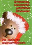 TATZINO Das sind meine Weihnachtswünsche / hellgrün Postkarte